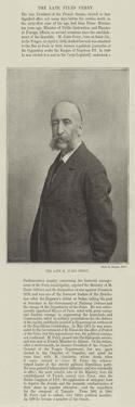 The Late M Jules Ferry