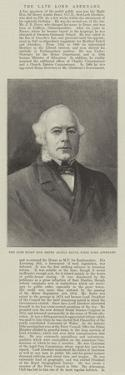 The Late Right Honourable Henry Austin Bruce, First Lord Aberdare