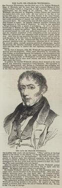 The Late Sir Charles Wetherell