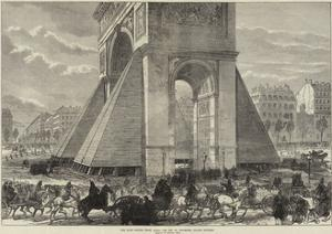 The Late Sorties from Paris, the Arc De Triomphe, Champs Elysees