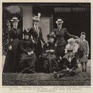 The Latest Portrait of the Queen, a Royal Group from Balmoral