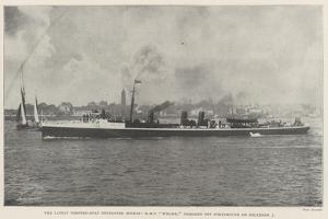 The Latest Torpedo-Boat Destroyer Mishap, HMS Wizard, Damaged Off Portsmouth on 5 December