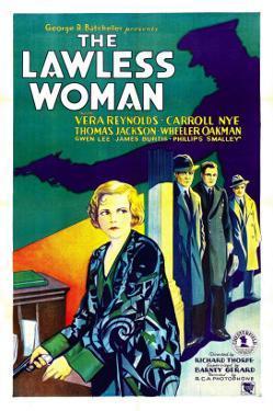 The Lawless Woman, Far Left: Vera Reynolds, 1931