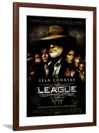 The League of Extraordinary Gentlemen--Framed Poster