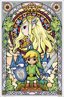 The Legend of Zelda- Stained Glass