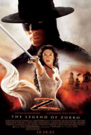 The Legend of Zorro (Antonio Banderas, Catherine Zeta-Jones) Movie Poster