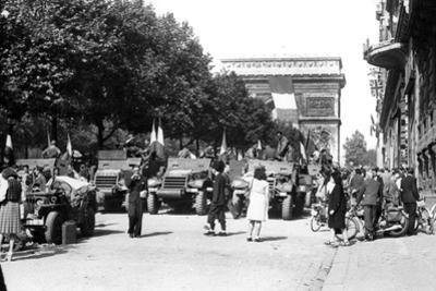 The Liberation of Paris, August 1944