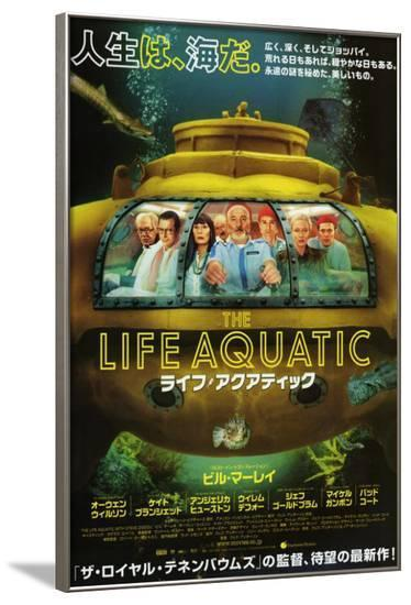 The Life Aquatic with Steve Zissou - Japanese Style--Framed Poster