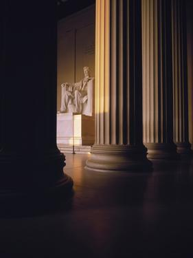The Lincoln Memorial in the Morning Light, Washington Dc