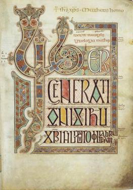 The Lindisfarne Gospels, 715-721