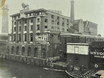 The Lion Brewery, Belvedere Road, Lambeth, London, 1928