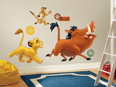 The Lion King Peel & Stick Giant Wall Decals