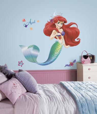 The Little Mermaid Peel and Stick Giant Wall Decals