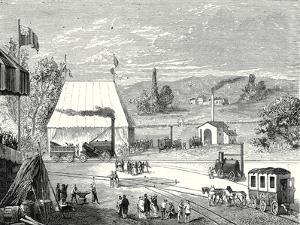 The Locomotive Contest in Liverpool in October 1829