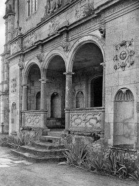 The Loggia, Cranborne Manor House, Dorset, 1924-1926 by E Bastard