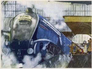 "The London and North Eastern Railway's ""Flying Scotsman"" Express"