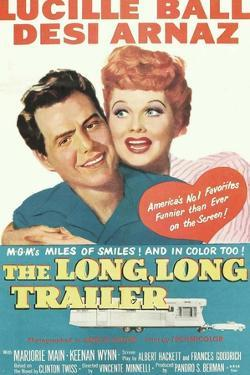 The Long, Long Traile, Desi Arnaz, Lucille Ball, 1954