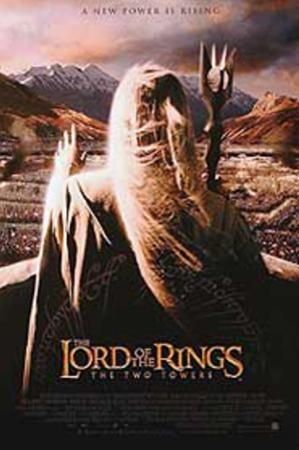 The Lord of The Rings: The Two Towers (Elijah Wood, Orlando Bloom, Viggo Mortensen) Movie Poster
