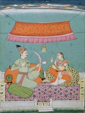 The Lotus Arrow, Bilaspur, c.1750