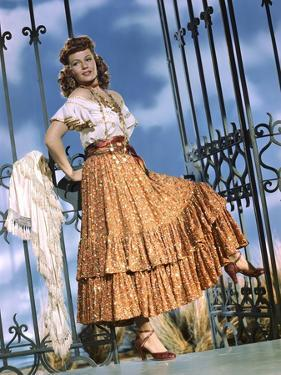 THE LOVES OF CARMEN, 1948 directed by CHARLES VIDOR Rita Hayworth (photo)