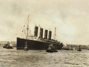 The Luxury Liner Lusitania