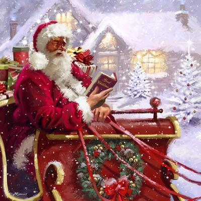 Santa Delivering by The Macneil Studio