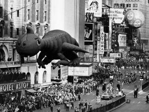 The Macy's Thanksgiving Day Parade, Times Square, New York City, November 28, 1963