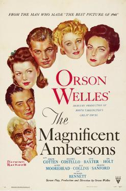 The Magnificent Ambersons, Agnes Moorehead, Dolores Costello, 1942