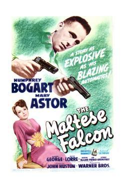 The Maltese Falcon - Movie Poster Reproduction