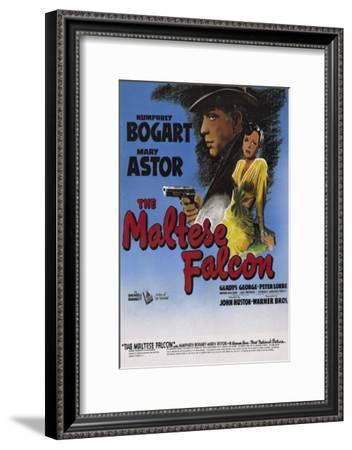 The Maltese Falcon--Framed Masterprint
