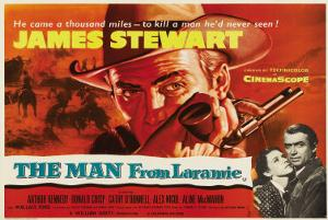 The Man From Laramie, UK Movie Poster, 1955