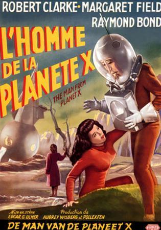 The Man from Planet X, (aka L'Homme De La Planete X), 1951