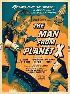The Man From Planet X, Pat Goldin, Margaret Field, 1951