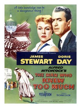 The Man Who Knew Too Much, Top Doris Day, James Stewart, 1956