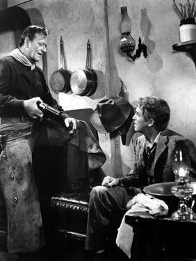 The Man Who Shot Liberty Valance, John Wayne, James Stewart, 1962