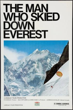 THE MAN WHO SKIED DOWN EVEREST, Yuichiro Miura, 1975