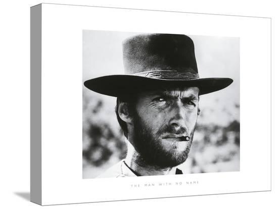 The Man With No Name-The Chelsea Collection-Stretched Canvas