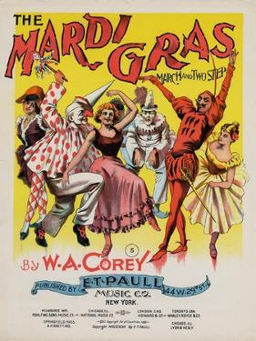 The Mardi Gras March and Two Step, Sam DeVincent Collection, National Museum of American History