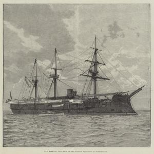 The Marengo, Flag-Ship of the French Squadron at Portsmouth