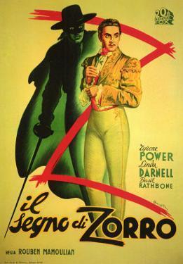 The Mark of Zorro, 1940
