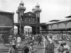 The Market Place, Port-Au-Prince, Haiti, 1926