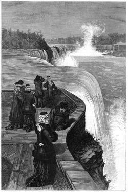 The Marquis and Marchioness of Lorne at Niagara Falls, Canada, 1879
