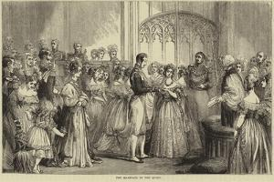 The Marriage of Queen Victoria and Prince Albert of Saxe-Coburg and Gotha