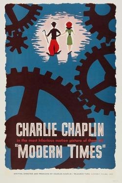 """The Masses, 1936, """"Modern Times"""" Directed by Charles Chaplin"""