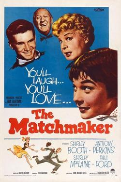 The Matchmaker, from Left: Anthony Perkins, Paul Ford, Shirley Booth, Shirley Maclaine, 1958