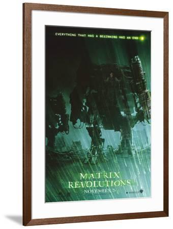 The Matrix Revolutions--Framed Poster