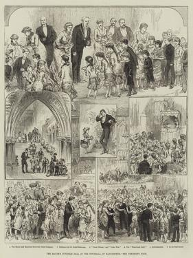 The Mayor's Juvenile Ball at the Townhall of Manchester