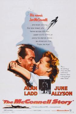 The Mcconnell Story, from Left: Alan Ladd, June Allyson, 1955