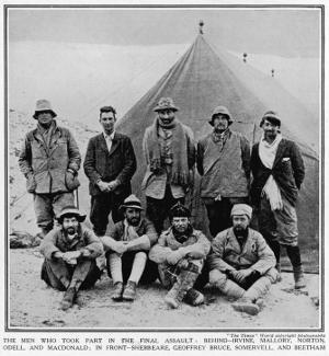 The Men of the 1924 Everest Expedition