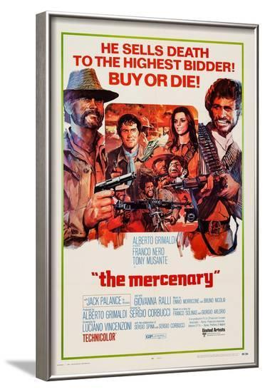 The Mercenary, (Aka Professional Gun), 1968--Framed Art Print